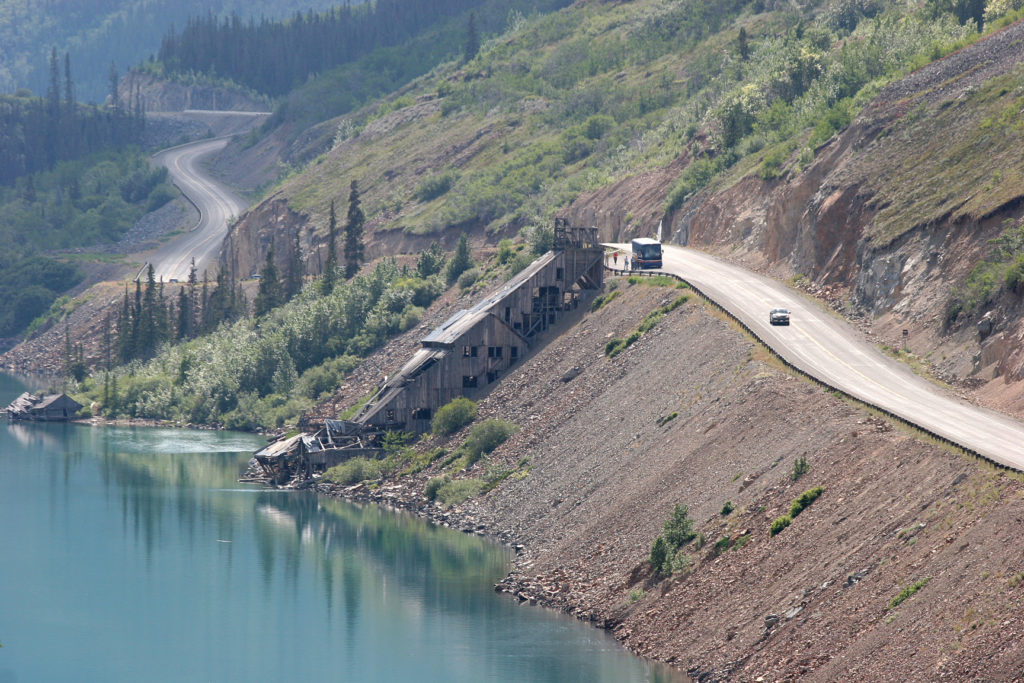 The Venus Mine - on the road to Carcross